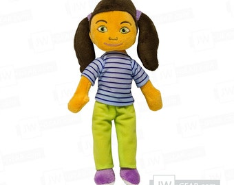 Sophia Plush Doll for Children (JW.org)