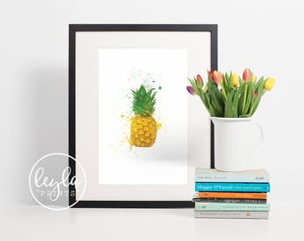 How I Met Your Mother Print - Pineapple | A6/A5/A4/A3 Minimalist Art Print | HIMYM TV Poster | For Him, For Her