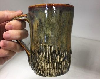 Handbuilt ceramic mug