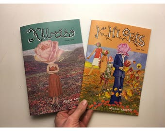 Khloris Issues 1 & 2, Collage Comic