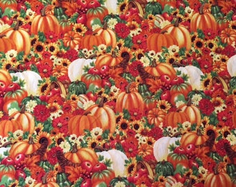 Fall Harvest Cotton Fabric