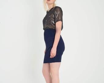 Lena - Blue Skirt