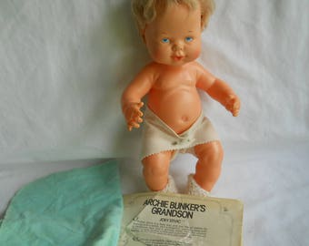 Archie Bunkers Grandson Joey Stivic Doll by Ideal Anatomically Correct