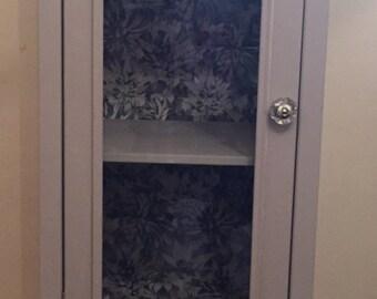 Bespoke handpainted decopage cabinet.