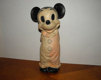Mickey Mouse 10.5inch Vintage Vinyl Toy