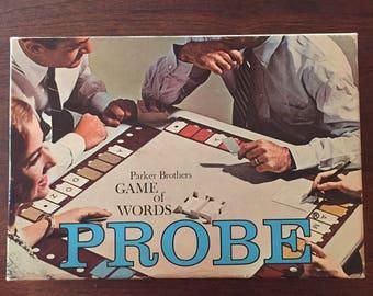 """Vintage Word Game """"PROBE"""""""