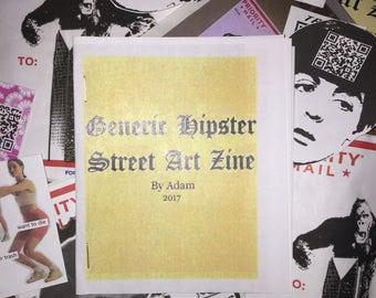 Graffiti Zine and STICKER PACK!!