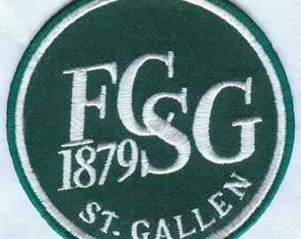 FC St. Gallen 1879 Swiss Switzerland Football Badge Patch