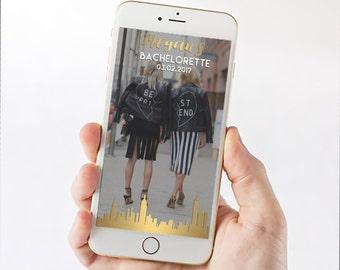 Skyline Bachelorette Snapchat Filter - Choose your Skyline! 1035