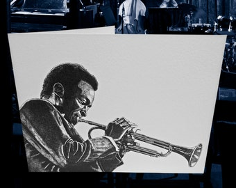 Kind of Blue – Miles Davis Greeting Card