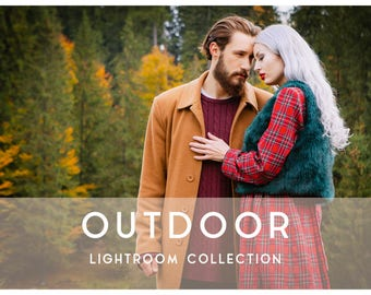 20 Outdoor Lightroom Preset Professional Filters for Portraits, Weddings, Family, Landscapes