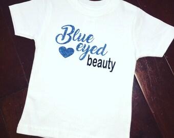 Blue eyed Beauty Toddler T-shirt