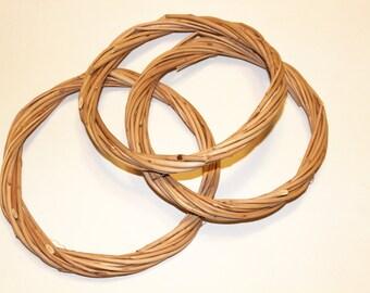 Base for Dreamcatcher willow hoop dreamcatcher circle natural twig dream catcher art craft supplies DIY handmade wreath