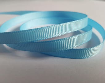 6mm Grosgrain ribbon, Grosgrain ribbon, Double sided ribbon, Ribbon, Ribboncrafts, Grosgrain, Blue ribbon, Blue
