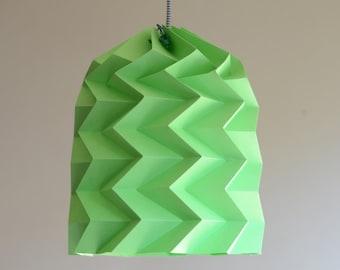ZIGZAG paper origami lampshade