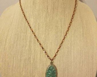 Vintage turquoise locket. Lockets.gifts Vintage charm