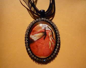 Armenian dancer in traditional costume.