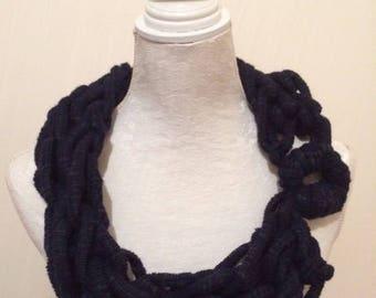 Handmade Crocheted Scarf/Cowl