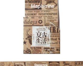 Washi Tape, Masking Tape, tape adhesive scrapbooking VINTAGE