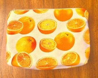 Lemon cosmetic bag