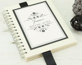 Personalised Wedding Planning Notebook