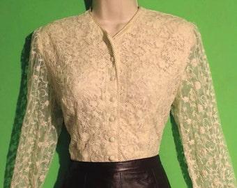 Boho-Chic Vintage Blouse