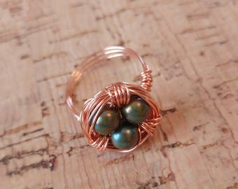 Wrap Nest Ring