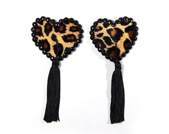 Sweetheart Leopard Pasties