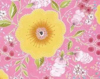 CLEARANCE - Free Spirit - Isabelle by Dena Designs - Pink Fleurette PWDF246.PINKX (Floral)