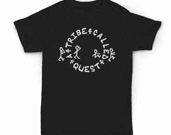 A Tribe Called Quest stick characters T-shirt - ATCQ Real hip hop - old school - New York City - Golden Era rap - Native Tongues