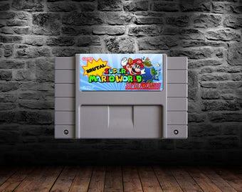Brutal Super Mario World - ROM Hack - Your new favorite Super Mario World Adventure! - SNES