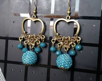 Enchanted Garden earrings