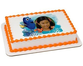Finding Dory You're Amazing Picture Frame Edible Cake Topper