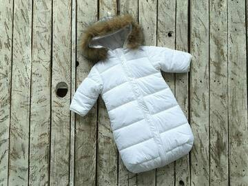 2343f1f31 ... Clothes Infant Down Jacket Newborn winter Romper Toddler Jumpsuit Snow Overalls  infant. 🔎zoom