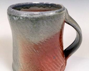 "Woodfired mug 4.5"" x 3.25"" x 4"""