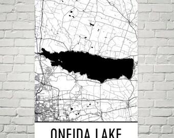 Oneida Lake New York, Oneida Lake NY, Upstate New York, New York Map, Syracuse Lake Map, Oneida Lake Art, Oneida Cottage, New York Lakes