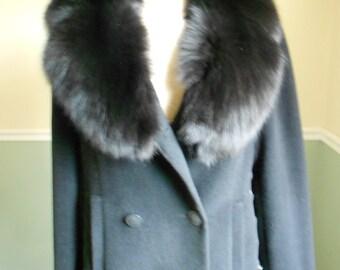 Fox Collared Jacket / Cole Haan Jacket