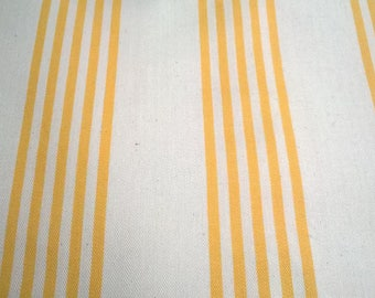 CANVAS MATTRESS YELLOW