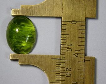 Natural Green Peridot cabochon, Smooth Peridot loose gemstone, Peridot loose stone, Peridot gemstone Best quality 13 Cts. #645N