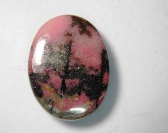 AAA+ Rhodonite gemstone, Natural rhodonite cabochon, rhodonite loose Gemstone, Top rare- Rhodonite loose stone 61 Cts. #959N