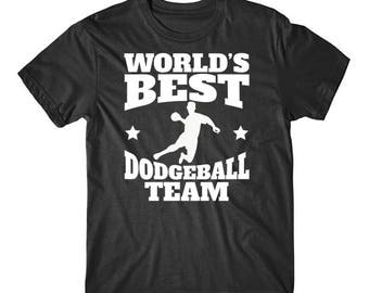 Retro World's Best Dodgeball Team T-Shirt