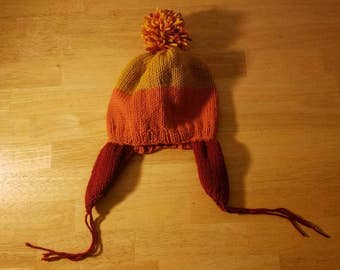 Cunning Jayne Cobb Knit Hat with Flaps from Firefly