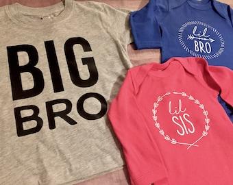 Big Bro or Big Sis TShirt