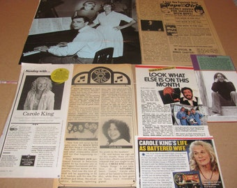 CAROLE KING  CLIPPINGS  #0514