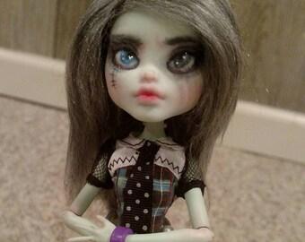 OOAK Monster High Doll    Frankie Stein Repaint
