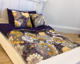 American Girl Doll Bedding Floral Print