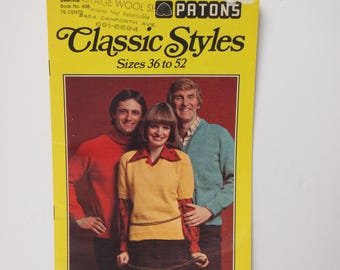 Vintage Patons Classic Styles No 408