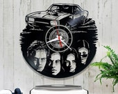 Vinyl Wall Clock The Fast and the Furious 0/5/3/Record Wall Clock/Gift for Boyfriend/Vinyl Record Clock/Kitchen Clock/Birthday Gift