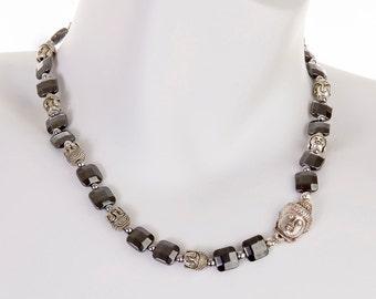 """Fab Buddha LAINE HOADLEY 18"""" Necklace"""