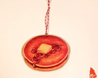 Pancakes Ornament